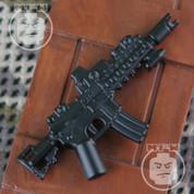 Noveske N4 Diplomat Matt Finish LEGO minifigure compatible Assault Rifle