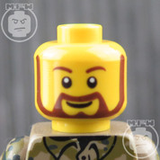 Soldier 2 LEGO Minifigure Head