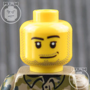 Soldier 4 LEGO Minifigure Head