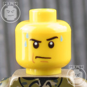 Bomb Disposal LEGO Minifigure Head