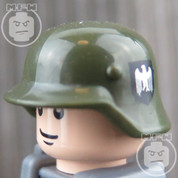 German Stahlhelm M35 - printed