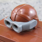 Flight Helmet with Goggles