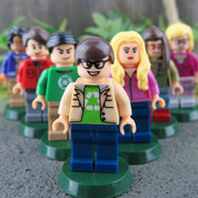 The Big Bang Theory 7 Minifigure Set