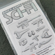 SCIFI 2010  LEGO minifigure compatible Weapons Pack