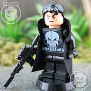 The Punisher LEGO compatible Minifigure