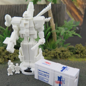 OMEGA MECHABRICK ROBOT