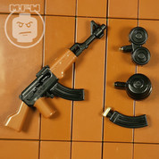 AK-47 with Mixed Magazines