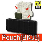 Pouch BK35 for Tactical Vests