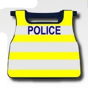 S6 Police Vest Printed