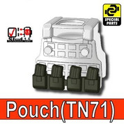 Pouch TN71 for Tactical Vests