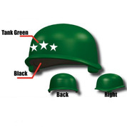 US Army M1 Pot helmet  3 Star General