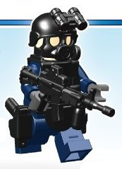 Minifig not included