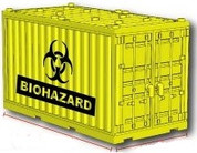 Shipping Container - Biohazard