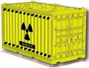 Shipping Container - Radioactive
