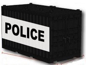 Shipping Container - POLICE