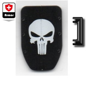 N7 Bullet-Proof Shield - skull