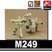 M249 Light Machine Gun - camo
