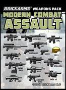 Brickarms Modern Combat Assault Pack
