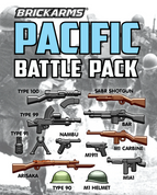 Brickarms Pacific Battle Weapons Pack