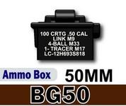 BG50 Ammo Box - printed 50 Cal
