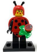 LEGO Minifig Series 21  Ladybug Girl