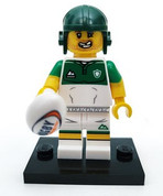 LEGO Minifig Series 19 Rugby Player
