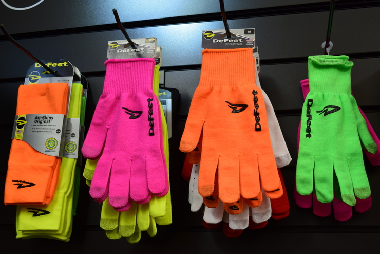 Defeet Gloves and Armwarmers
