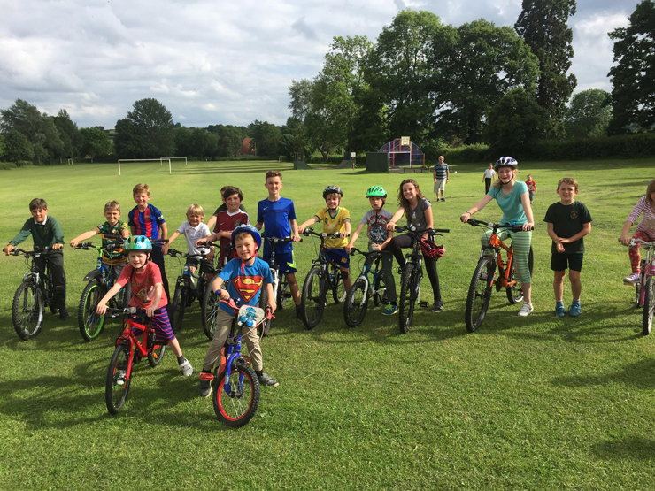 Flore Primary School Sponsored Ride
