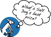 Saly Dog cycling best price