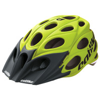 Catlike Leaf MTB Helmet Yellow with Black Visor