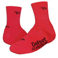 Defeet Slipstream Overshoes Red