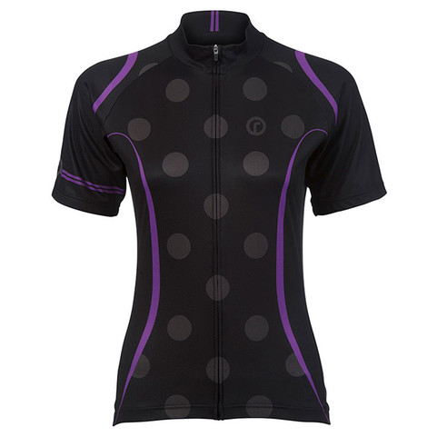 Ride Ladies Print Jersey Purple