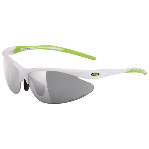 Northwave Team Sunglasses White with Smoke, Clear, Orange Lenses