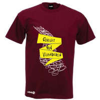 Classics Project War of Vlaanderen T-shirt Burgundy