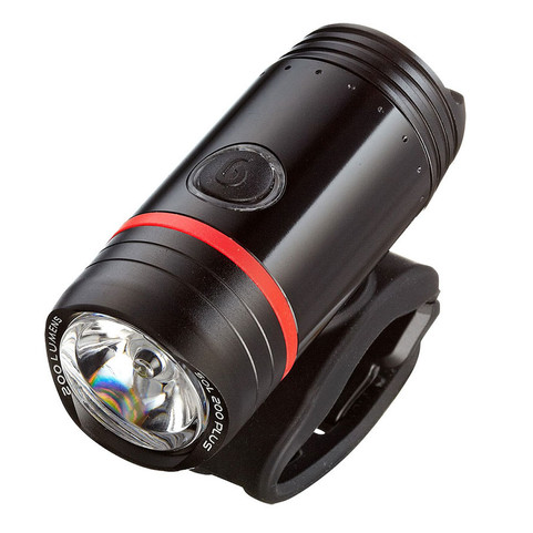 Guee Sol 200 Plus Front Bike Light - Black