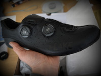 Lake CX402 Wide Fit Road Shoes Black