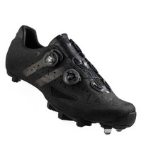 Lake MX237 SuperCross Cyclocross Shoes in Black
