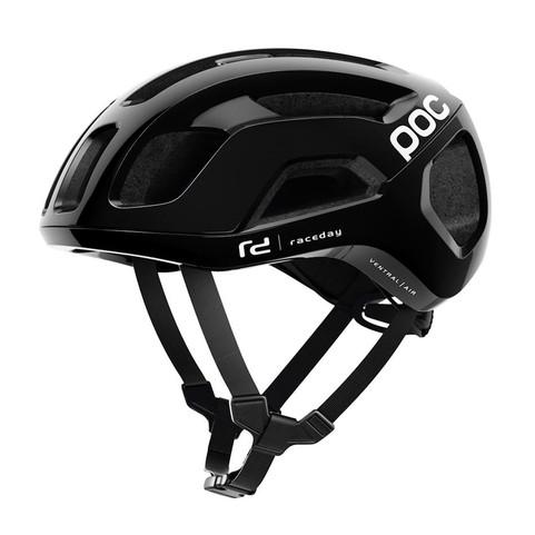 Uranium Black Raceday - POC Ventral Air SPIN Road Helmet