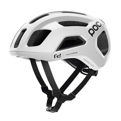 POC Ventral Air SPIN Road Helmet  - Hydrogen White Raceday