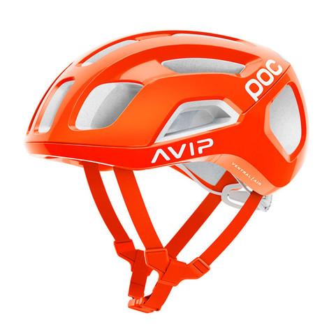 POC Ventral Air SPIN Road Helmet - Zink Orange AVIP