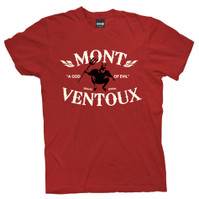 Tour De France Mountain Project Mont Ventoux T-shirt Burgundy