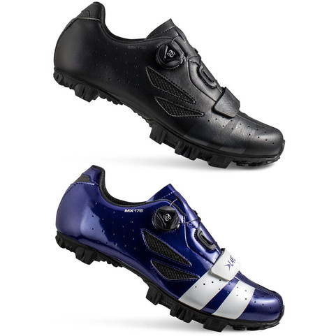 Lake MX176 MTB Cycling Shoes In Black or Navy Blue