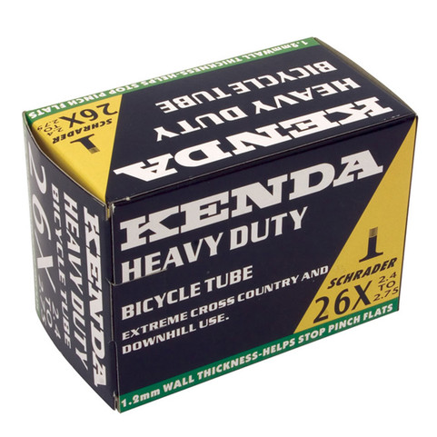 Kenda Presta Valve Heavy Duty Inner Tube 26x2.4 to 2.7
