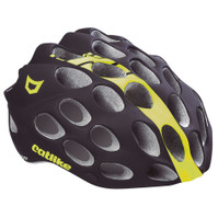 Catlike Whisper Road Helmet Black Yellow Fluo Matt