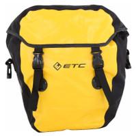 ETC Small Waterproof Pannier Yellow