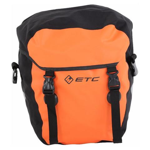 Orange ETC Small Waterproof Pannier
