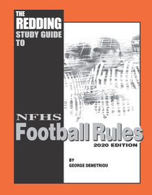 PREORDER (REGULAR BIND) 2021 Redding Study Guide to Football - NFHS Edition