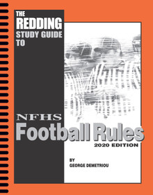 SPIRAL BOUND- 2020 Redding Study Guide to Football - NFHS Edition