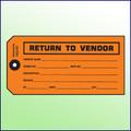 Return to Vendor Tag
