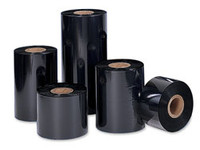 SONY - DNP 4085 Premium Black Wax (Resin Enhanced) - Thermal Transfer Ribbon for Zebra Printers - TR4085 PLUS BLACK WAX/RESIN TTR ̐ COATED SIDE OUT 24 RLS/CASE 3.50ÌÒ X 1476' Zebra Ribbons